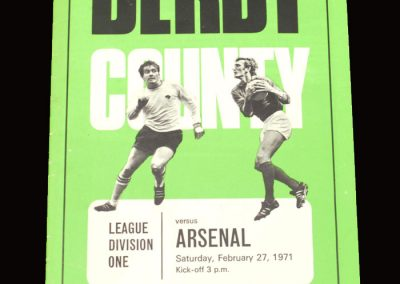 Arsenal v Derby 27.02.1971