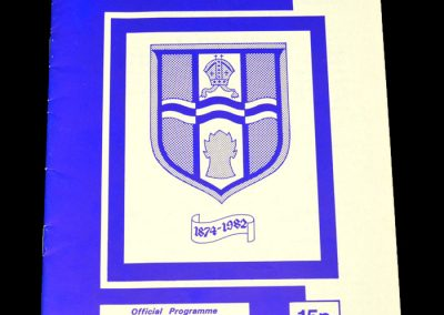 Middlesbrough v Bishop's Stortford 11.01.1983 - FA Cup 3rd Round Replay