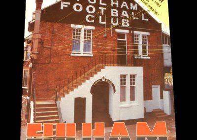 Middlesbrough v Fulham 22.01.1983