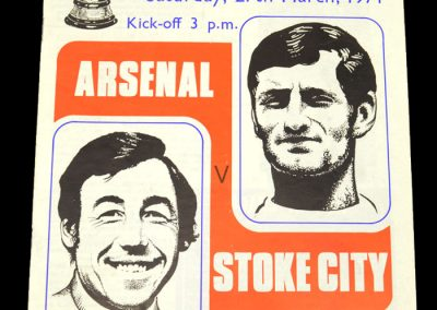 Arsenal v Stoke 27.03.1971 - FA Cup Semi Final