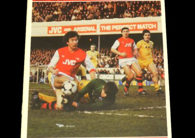 Middlesbrough v Arsenal 28.02.1983 - FA Cup 5th Round Replay