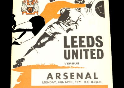 Arsenal v Leeds 26.04.1971