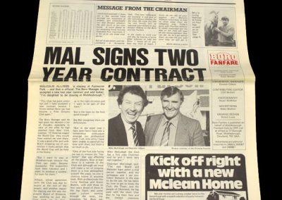 Middlesbrough v Charlton (Middlesbrough Fanfare) 26.03.1983