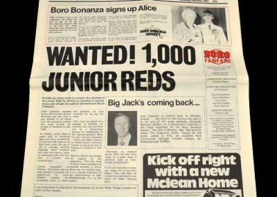 Middlesbrough v Crystal Palace (Middlesbrough Fanfare) 10.05.1983