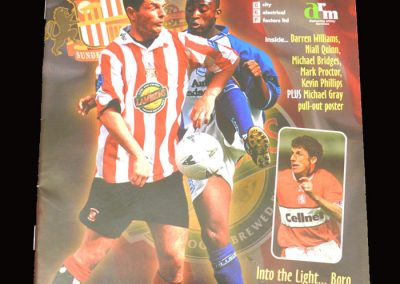 Middlesbrough v Sunderland 28.09.1997
