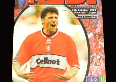 Middlesbrough v Sheff Utd 05.10.1997