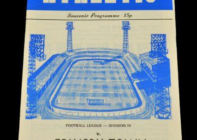 Wigan v Grimsby 23.08.1978