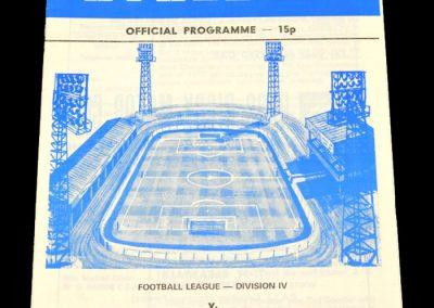 Wigan v Rochdale 13.09.1978