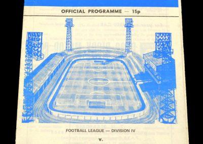 Wigan v Bradford 16.09.1978