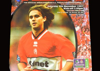 Middlesbrough v QPR 08.11.1997