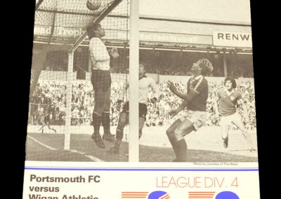 Wigan v Portsmouth 26.09.1978