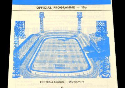 Wigan v Scunthorpe 30.09.1978