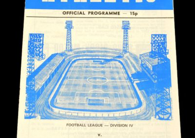 Wigan v Doncaster 14.10.1978
