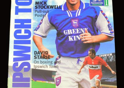 Middlesbrough v Ipswich 02.12.1997