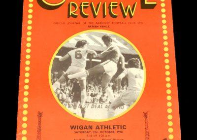 Wigan v Barnsley 21.10.1978