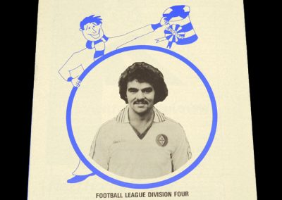 Wigan v Stockport 03.11.1978