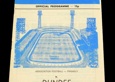 Wigan v Dundee 06.11.1978 (Friendly)
