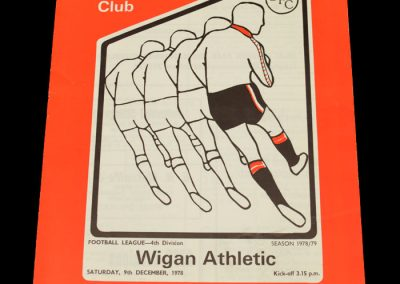Wigan v Darlington 09.12.1978