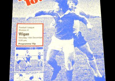 Wigan v Halifax 16.12.1978
