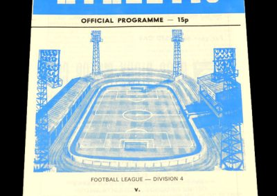 Wigan v Wimbledon 13.01.1979 (Postponed)