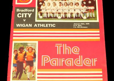 Wigan v Bradford City 20.01.1979 (Postponed)