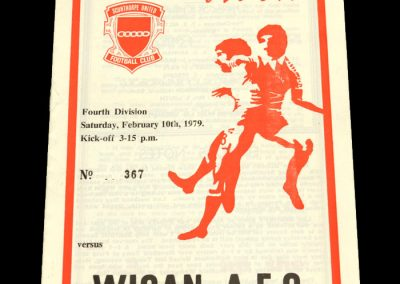 Wigan v Scunthorpe 10.02.1979 (Postponed)
