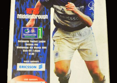 Middlesbrough v QPR 04.03.1998