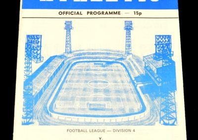 Wigan v Huddersfield 17.02.1979