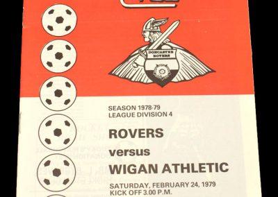 Wigan v Doncaster 24.02.1979