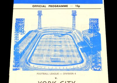 Wigan v York 28.02.1979