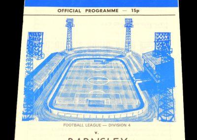 Wigan v Barnsley 03.03.1979