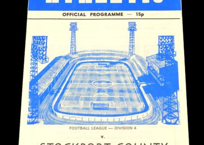 Wigan v Stockport 17.03.1979