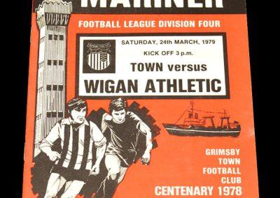Wigan v Grimsby 24.03.1979