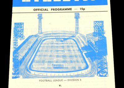 Wigan v Port Vale 13.04.1979
