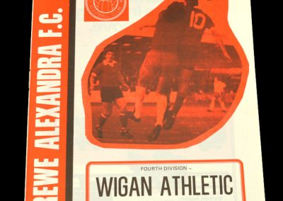 Wigan v Crewe Alexandra 14.04.1979