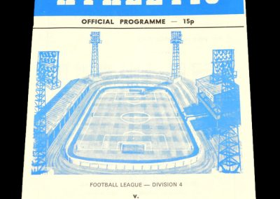 Wigan v Hartlepool 16.04.1979