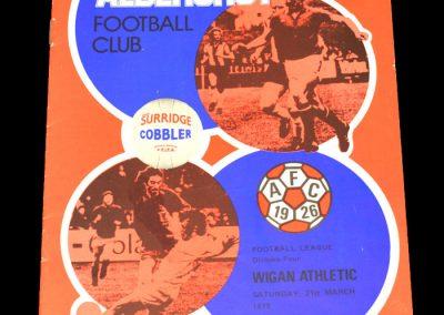 Wigan v Aldershot 21.04.1979