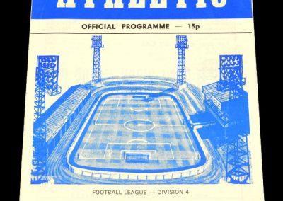 Wigan v Darlington 28.04.1979