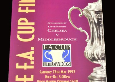 Middlesbrough v Chelsea 17.05.1997 - FA Cup Final