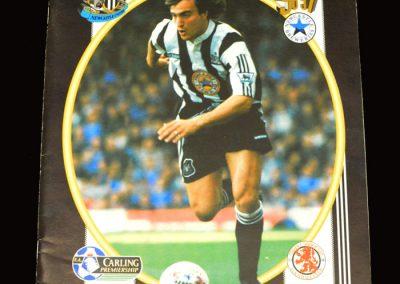Middlesbrough v Newcastle 03.11.1996