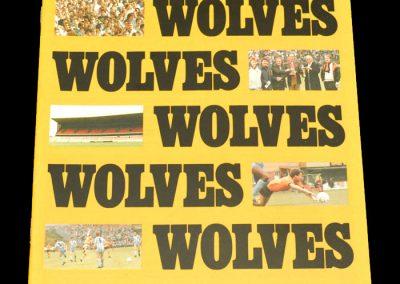 Wolves v Torquay 26.09.1987