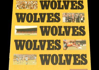 Wolves v Tranmere 17.10.1987