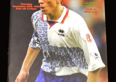 Middlesbrough v Everton 26.12.1996