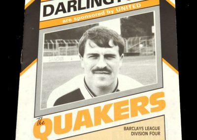 Wolves v Darlington 24.10.1987