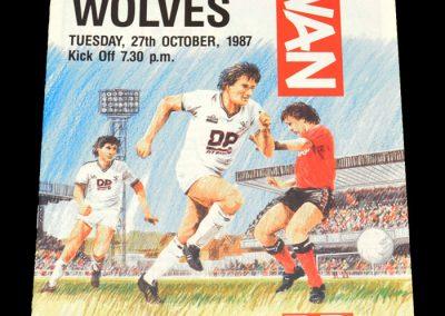 Wolves v Swansea 27.10.1987