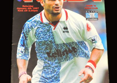 Middlesbrough v Chester City 04.01.1997 - FA Cup 3rd Round