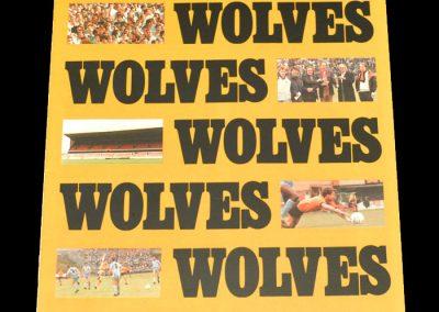Wolves v Newport County 31.10.1987
