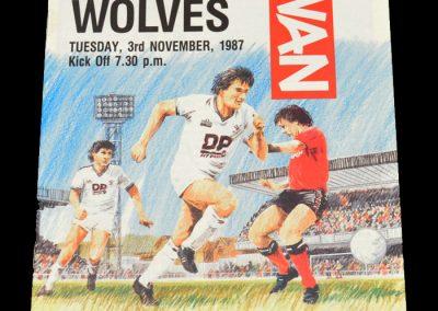 Wolves v Swansea 03.11.1987