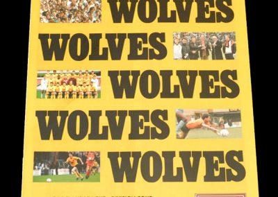 Wolves v Stockport 16.01.1988