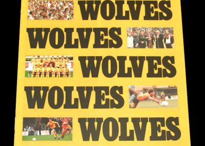 Wolves v Brentford 19.01.1988 - FA Trophy 1st Round